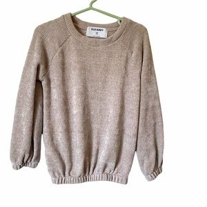 Old Navy Girls 5T Chenille Sweater